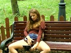 XBabe Video - Public Masturbation By One Sleazy Chick