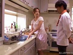 BravoTube Video - Japanese Wife Ayaka Fujikita Enjoys Serious Sex At Home