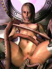 Innocent 3D Belle is fucked by Partners dick