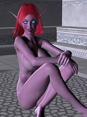 3D Lady grab Doctor till gets fucked